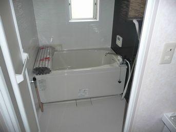 完成後の浴室の様子です。
