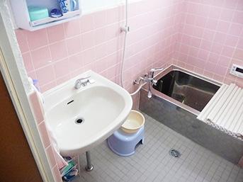 工事後の浴室の様子です。