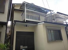 大阪狭山市K様邸 1階増築・外壁・ベランダ工事