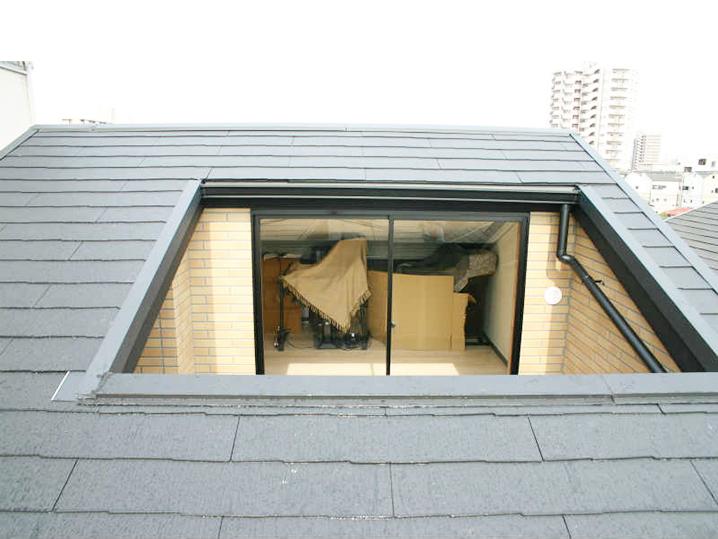 大阪市N様邸 屋根開口、バルコニー工事