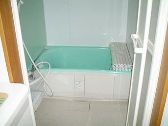 施工後の増築部分の浴室の様子です。
